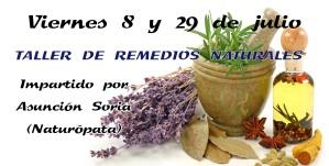taller REMADIOS NATURALES